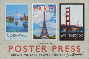PosterPress for Photoshop