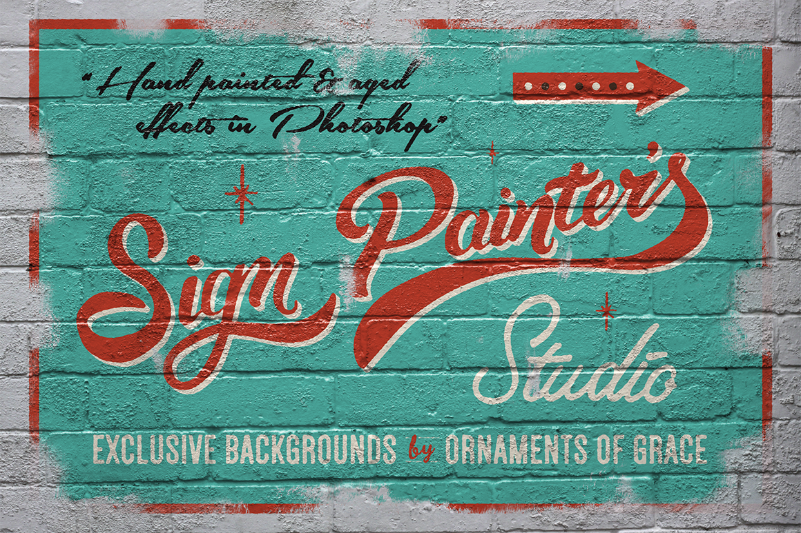 Sign Painter's Studio
