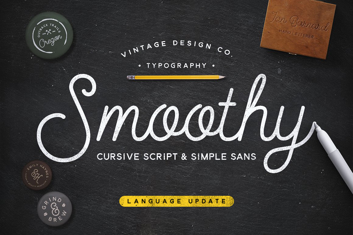 Smoothy - Typeface