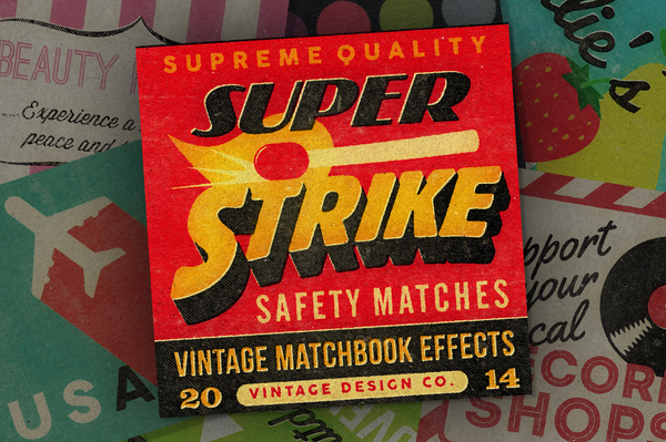 SuperStrike - Matchbook Effects