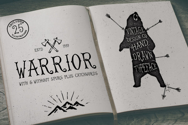 Warrior - Typeface