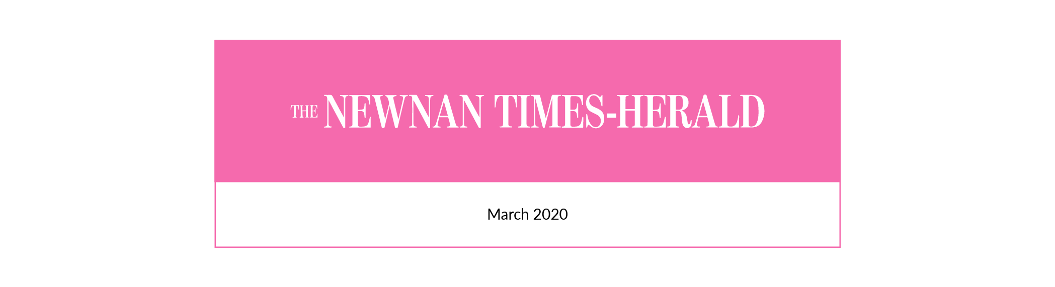 Newnan Times Herald | March 2020