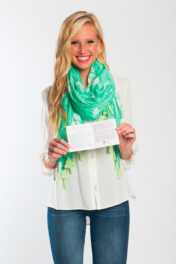 Wellspring Living Scarf - Field of Hope
