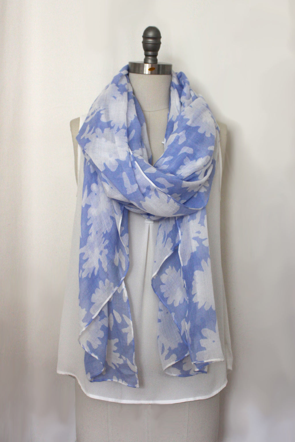 Flower Press Printed Scarf