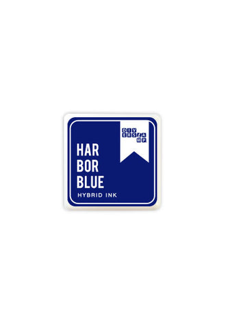 Cubo de Tinta Hybrid Ink para Sellos Harbor Blue