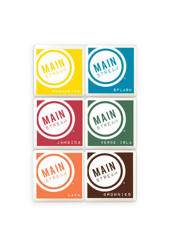 Hawaii Mix Mini Ink Pads 6 Pack