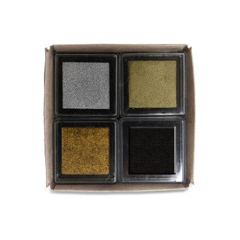 Metallic Mix 4 Pack Cube Set