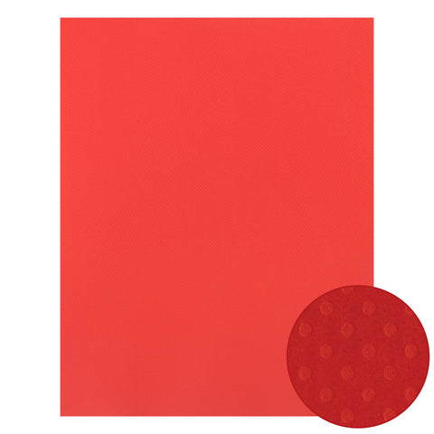 Papel Craft Bazzill Fireball Dotted 22x28""