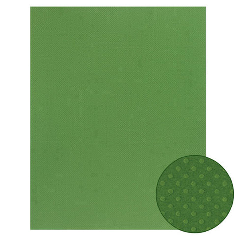 Papel Craft Bazzill Green Briar Dotted 22x28""