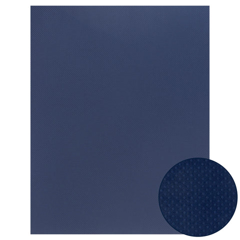 Papel Craft Bazzill Deep Blue Dotted 22x28""