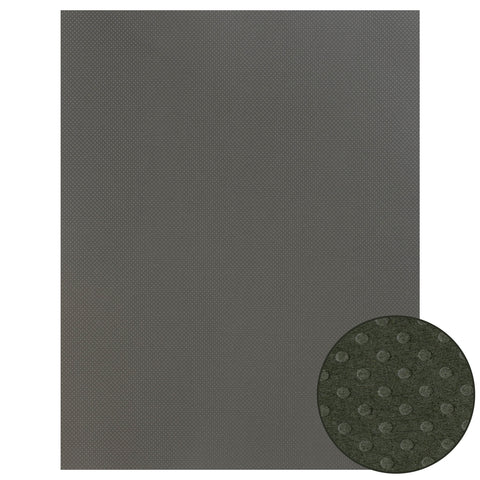 Papel Craft Bazzill Pewter Dotted 22x28""