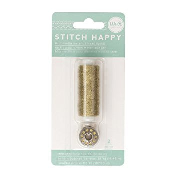 Stitch Happy Metalic Thread Silver