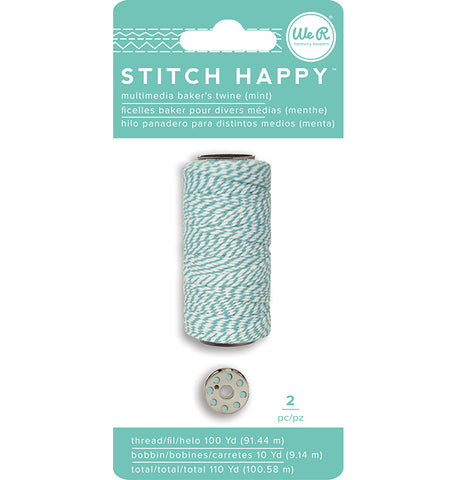 Stitch Happy Thread Bakers Twine Mint