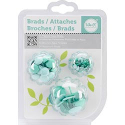 Broches de Color Aqua