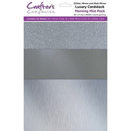 Luxury Mixed Card Pack 8.5x11 Morning Mist 30 sheet