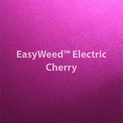 Vinil Textil Electric Cherry Siser 12x15""