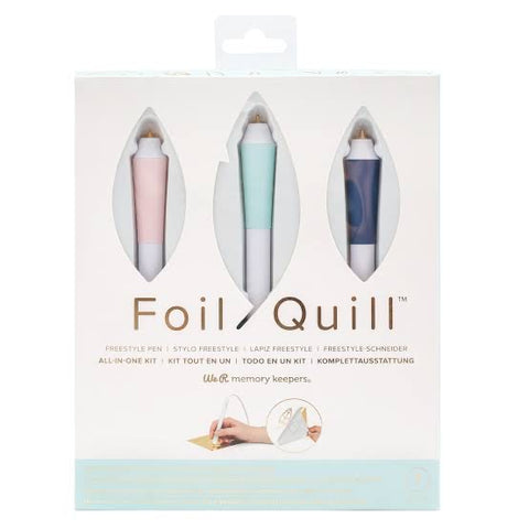 Kit Foil Quill All In One FreeStyle Pen **PROMOCIÓN 2 ROLLOS DE FOIL GRATIS**
