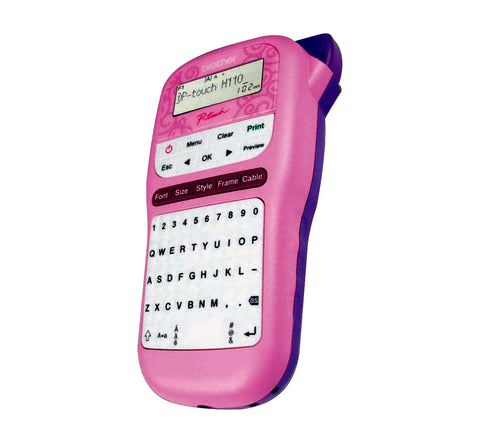 P-Touch 110  Rotulador Rosa