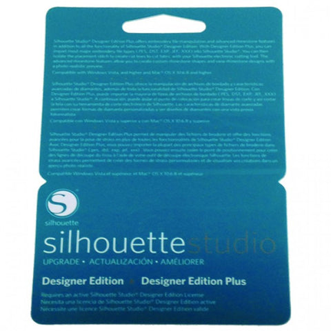 Silhouette Studio Designer Edition to Plus