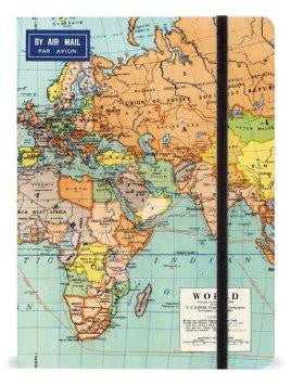 Notebook World Map 2