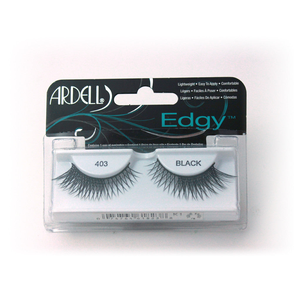 Pestañas postizas de pelo natural. Adgy 403 black
