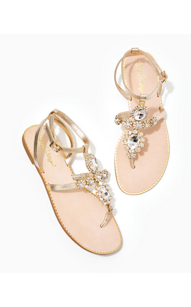 Load image into Gallery viewer, Katie Embellished Sandal