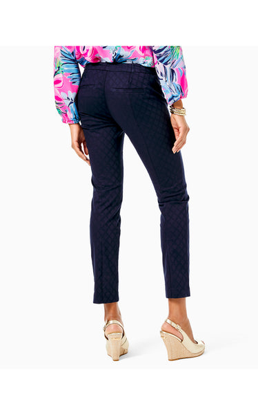 "29"" Kelly Textured Ankle Length Skinny Pant"