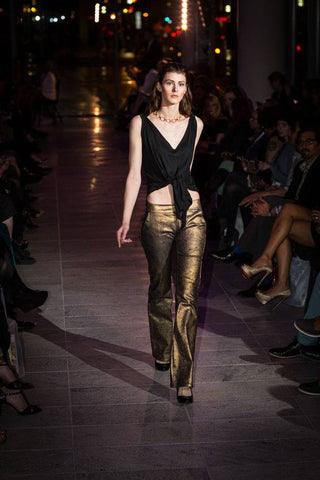 Tessa Louise Gold Pants