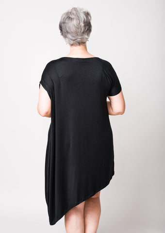 Keyhole Wrap Dress