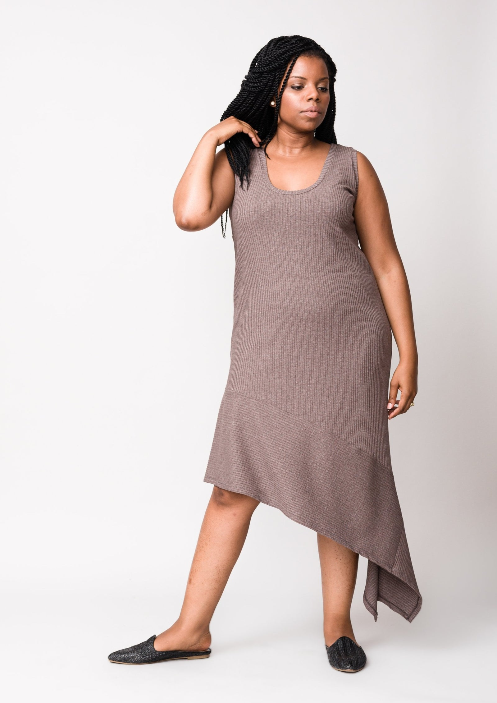 Tiered Gravity Dress