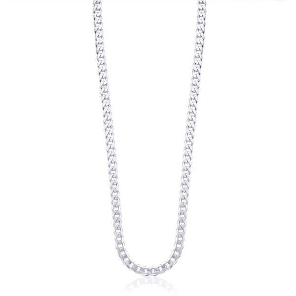 Taraash Sterling Silver Chain With Links For Men ACDH1506C20IN