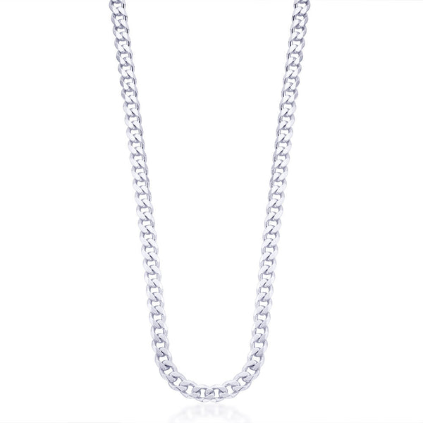 Taraash Sterling Silver Chain With Links For Men ACDH2006C20IN