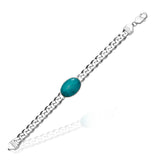 Taraash 925 Sterling Silver Salman Khan Bracelet For Men Silver-ACDH250MIX8H