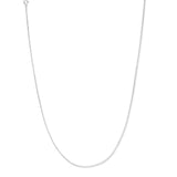 Taraash 925 Sterling Silver Square Compact Neck Chain For Women ACMS4518IN