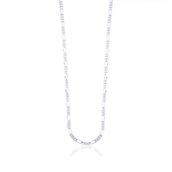 Taraash Sterling Silver Chain With Interlinks For Men AFGH1006C20IN