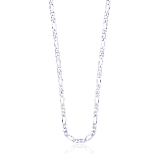 Taraash Sterling Silver Chain With Interlinks For Men AFGH1506C20IN