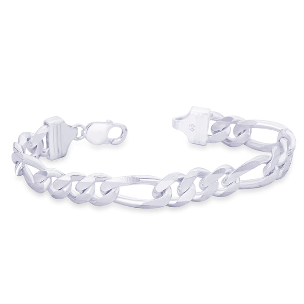 Taraash 925 Sterling Silver  Bracelet  For Men Silver-AFGH3006C8HIN