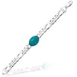 Taraash 925 Sterling Silver Salman Bracelet For Men Silver-AFGH300MIX8H