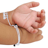 Taraash 925 Sterling Silver Bell Ending Baby Bangles For Kids BG1324S