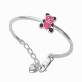 Taraash 925 Sterling Silver Baby Bangles For Kids BG1590S