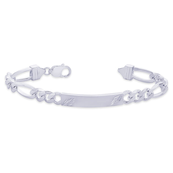 Taraash 925 Sterling Silver Bracelet For Men Silver-BR0528F