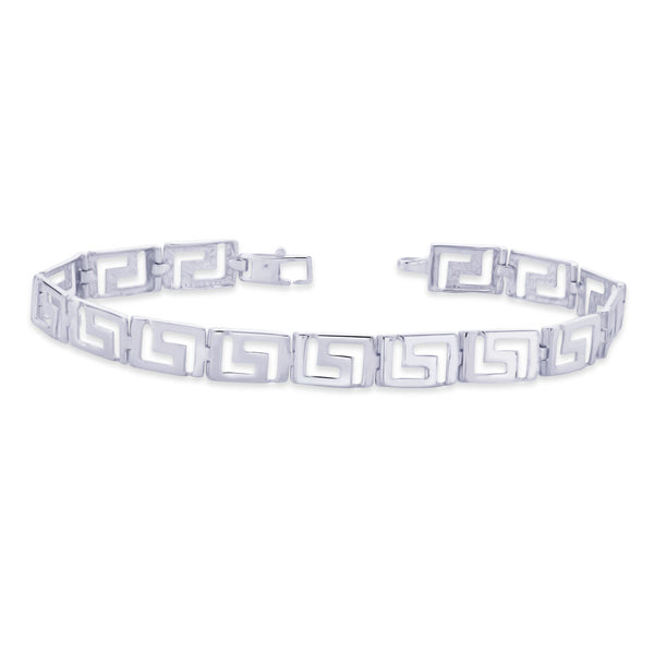 Taraash 925 Sterling Silver Bracelet For Men Silver-BR0903S