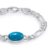Taraash 925 Sterling Silver Salman Bracelet For Men BR1057S