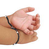 Taraash 925 Sterling Silver Nazariya Bracelet For Kids Set of Two BR1363S-1