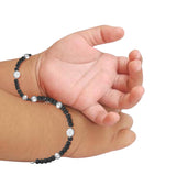 Taraash 925 Sterling Silver Nazariya Bracelet For Kids Set of Two BR1367S-1