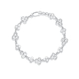 Taraash 925 Sterling Floral Silver Bracelets For Women