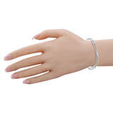 Taraash 925 Sterling Silver Chain Bracelet For Women BR1807F