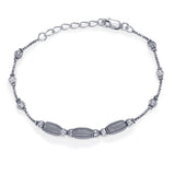Taraash 925 Sterling Silver Antique Wire Wrap Bracelet For Women BR1816A
