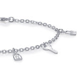 Taraash 925 Sterling Silver Charm Bracelets For Women BRML011
