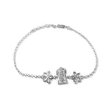 Taraash 925 Divine Tirupati Silver Rakhi For Brother